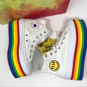 Converse All Star PRIDE Platform Hi-Top Sneaker